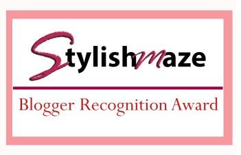 blogger recognition award design