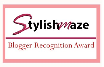 blogger recognition award design