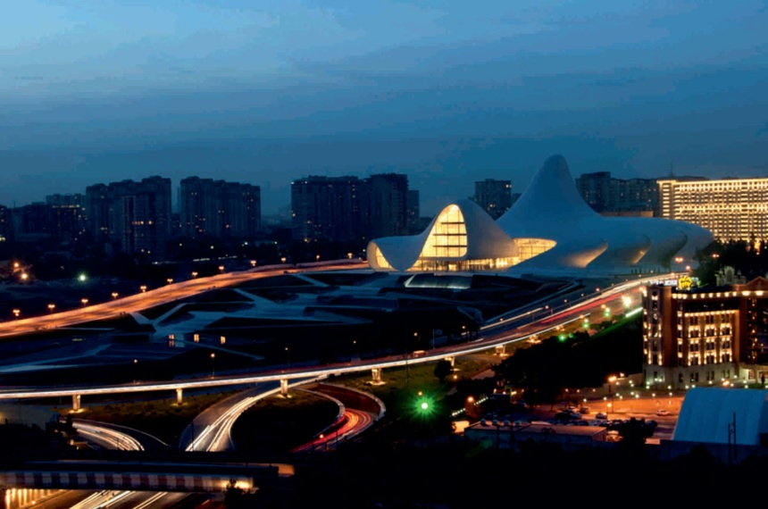 Heydar Aliyev Cultural Center by Zaha Hadid02